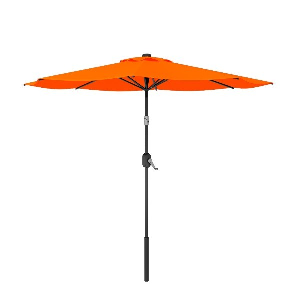 Heavy Duty Aluminum Round Patio Tilt Umbrella