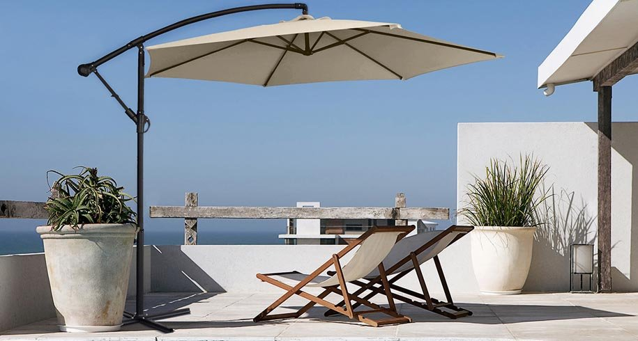 Buy Round Offset Cantilever Umbrellas