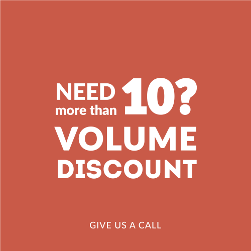 Need more than 10? Volume Discount